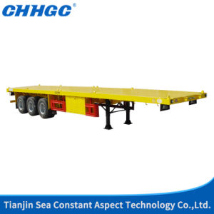 40t Payload Flatbed Trailer 40FT Container Trailer