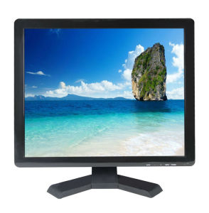 17 Inch CCTV LCD Monitor with BNC, HDMI, VGA Input pictures & photos
