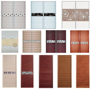Whosale PVC Sliding Door for Closet