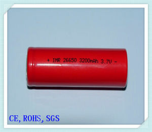 Li-ion 26650-3200mAh for Electric Scooter, High-Rate Discharge E Cigarette, Li-ion Battery Pack
