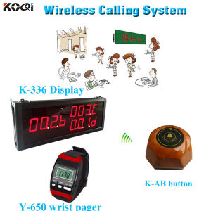Vibrating Wireless System Call Service High Quality PC Set K-336+Y-650+K-Ab pictures & photos
