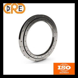 Indusrial Single-Row Four Point Contact Ball Slewing Bearings Internal Gear pictures & photos