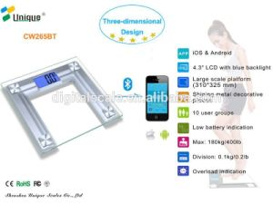 Household Scales Type and Digital Scale Type Bluetooth Body Fat Scale APP
