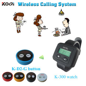 China Wireless Communication Equipment K Watch With KD Call - Restaurant table ordering system