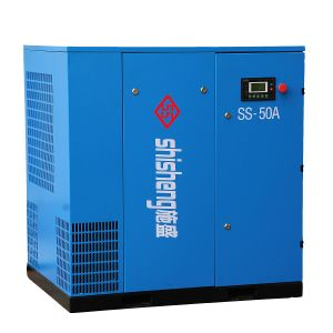 22kw 37kw 55kw 90kw Manufacturer Energy Saving Stationary Twin Rotary Screw Air Compressor for Instrument Sand Blasting