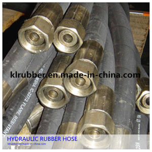 Stainless Steel Braided Hydraulic Rubber Hose Assembly pictures & photos