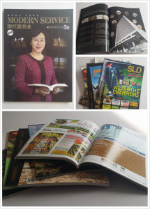 Customer Design Softcover Book/Magazine/Brochure Printing pictures & photos