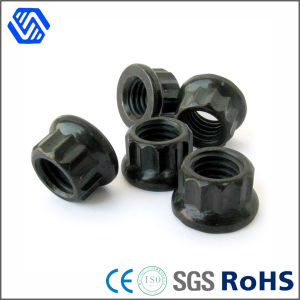 High-Strength 12-Point Flange Nuts, High Quality 12 Point Flange Nut pictures & photos