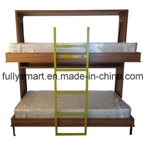 China New Design Twins Murphy Bunk Bed B09f China Murphy Bed Bed