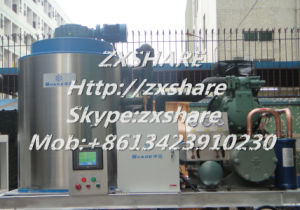 5000kg Industrial Flake Ice Making Machine for Food Processing