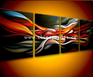 4panel Large Decorative Oil Painting (SJMY2870)