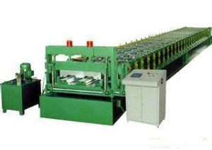 Hydraulic Cutting Floor Deck Panel Roll Forming Machine