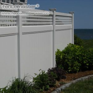 Made in China Semi-Privacy Fence pictures & photos