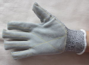 Anti-Cut Leather Glove pictures & photos