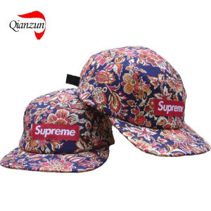 Melton Wool 5 Panel Supreme Cap pictures & photos