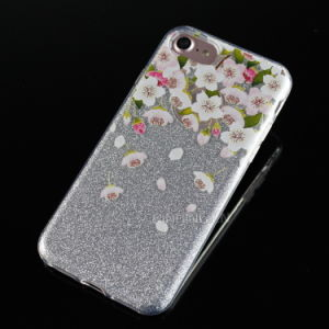 3in1 Glitter Paper TPU Phone Case for iPhone 7/7 Plus pictures & photos