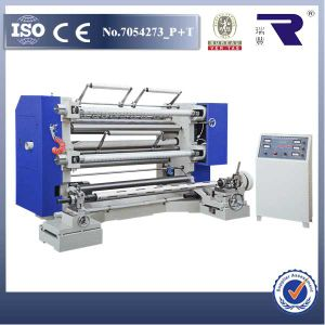 Wfq Full Auto Plastic Film Slitter and Rewinding Machine pictures & photos