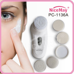 Vibrating Lady Facial Cleansing Brush (PC-1136A)