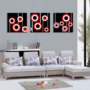 Abstract Circle Canvas Prints Wall Art High Quality
