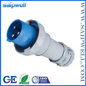 Saip/Saipwell High Quality IP67 3p 125A Industrial Power Plug