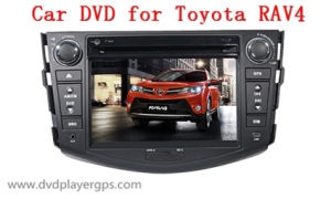 Car DVD Player with TV/Bt/RDS/IR/Aux/iPod/GPS for Toyota RAV4