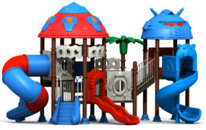 2012 Plastic Colored Playground Slide