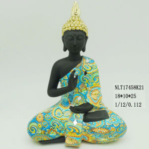 Small Resin Meditating Buddha Statues