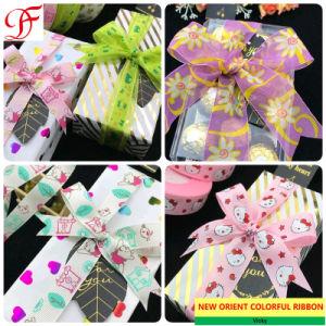 gift wrapping ribbons decorative ribbons 200yards gold print silver print floral metallic organza sheer ribbons