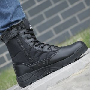 High Quality Wear Resistance Combat Boot pictures & photos