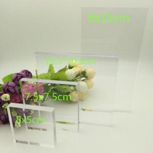Custom High Transparent Clear Acrylic Blocks
