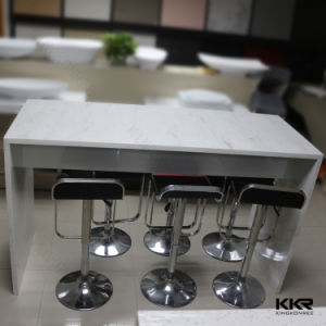 Customized Artificial Solid Surface Bar Furniture Table pictures & photos
