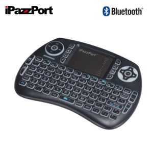 cd985a1cc08 China Ipazzport Bluetooth Keyboard with Touchpad Backlit Mini ...