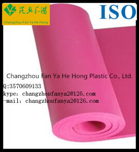 Eco Friendly Custom Print Anti-Slip TPE Yoga Mat pictures & photos