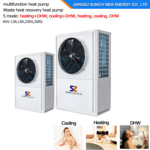55c Hot Water Cooling Air to Air Heat Pump pictures & photos