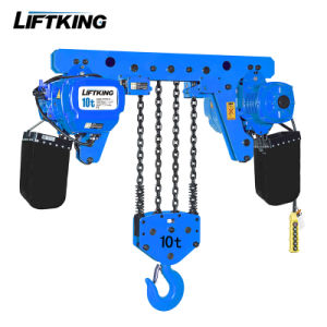 Ultra Low Headroom Heavy Duty Electric Chain Hoist (ECH 10-04LD) pictures & photos