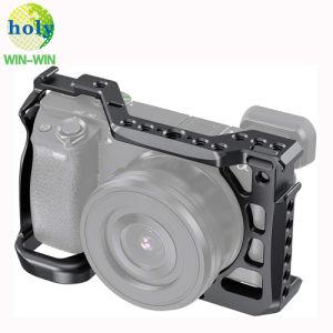 High Quality Precision Custom Custom CNC Machinery Aluminium CCTV Camera A6600 Parts Rig Video Support Baseblate Cage