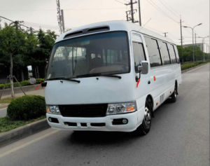 Used 2016 Year Toyota Coaster White/Golden Color Diesel/Petrol/Gasoline Tourist Bus