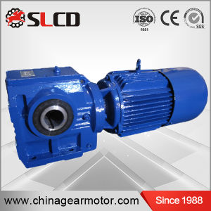S Series High Efficiency Hollow Shaft Helical Worm Gearbox Motor pictures & photos