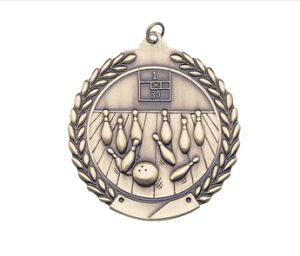 2′′ 3D Plating Customized Bowling Sports Medals pictures & photos