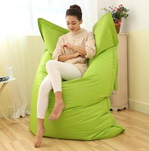 Cheap Outdoor Bean Bags for Lazy Life Bean Bag Sofa Large Bean Bag with  Rectangle Cover Only