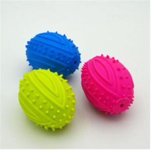 TPR LED Flashing Pet Toy Ball for Pet Dog Chew Rubber Ball Toy with Bells pictures & photos