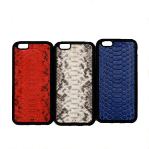 Genuine Python Snakeskin Leather Cell Phone Case for iPhone 7