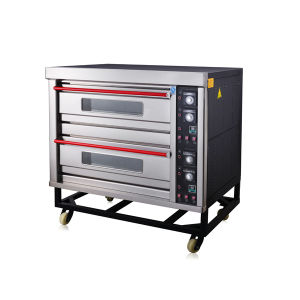2 Deck 4 Trays Catering Bakery Equipment Commercial Electric Oven Baking Machine pictures & photos