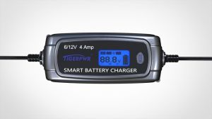 LCD Smart Battery Charger for Lead Acid Battery