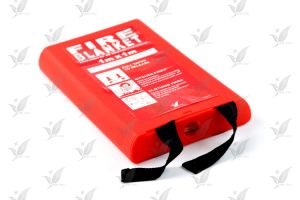 Fire Blanket with Silicon Coated Usage in Kitchen pictures & photos