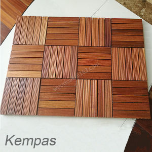 Hardwood Flooring Decking Flooring for Kempas Sand Beach Flooring