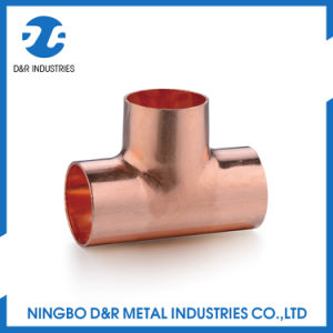 Dr 7018 3 Way Copper Elbow Fitting pictures & photos