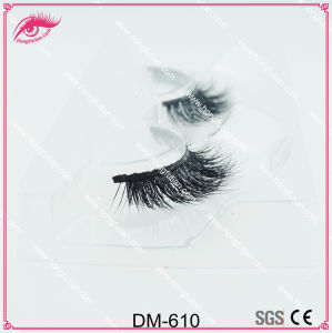 100% 3D Mink Lashes Mink Eyelashes Private Label Mink Strip Lashes pictures & photos