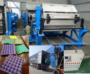 Small Egg Tray Making Machine Plant Waste Paper Egg Tray Machine Automatic Paper pictures & photos