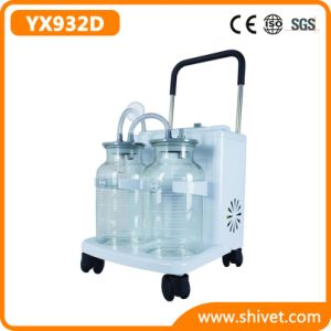 Veterinary High Flow & High Vacuum Electric Suction Unit (YX932D) pictures & photos